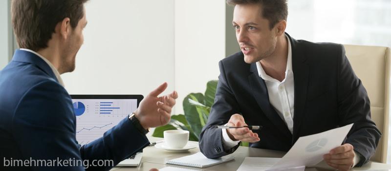 فروش به مشتریانی که بر سر حق بیمه چانه میزنند